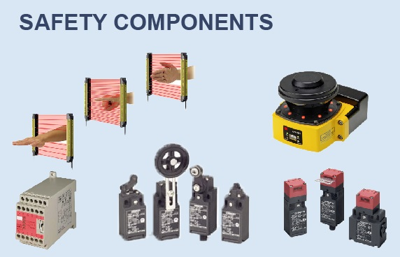 OMRON safety component